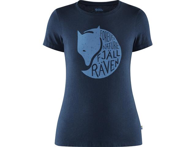 Fjällräven Forever Nature T-Shirt Femme, navy